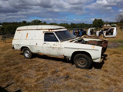 Holden hx windowless panelvan very very rusty hq hj hz sandman West Swan Swan Area Preview