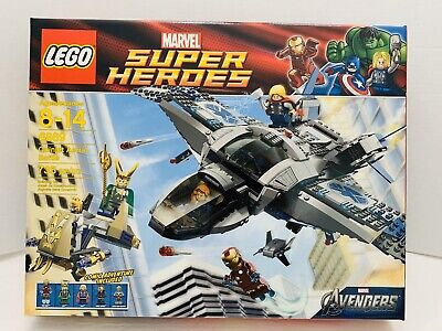 LEGO Super Heroes Quinjet Aerial Battle (6869). New Sealed. Excellent Condition!