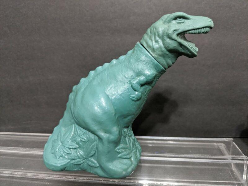 Vintage Avon T-Rex Dinosaur Bubble Bath bottle empty