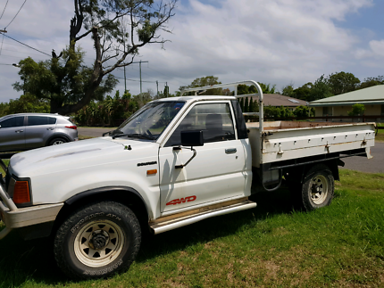 1993 Ford Courier 4x4 ute