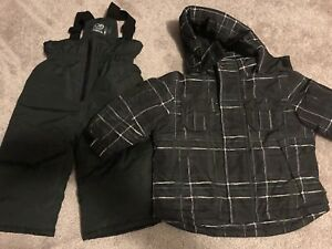 Toddler baby  boys snow suit