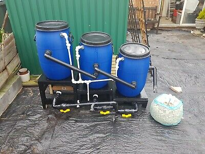 Used pond filters