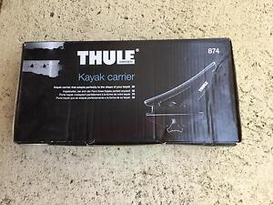 Thule  roof rack system for kayak and bike Wembley Downs Stirling Area Preview