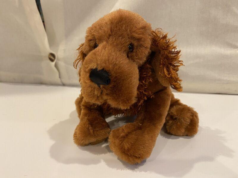 Webkinz Irish Setter Brown Red Dog Puppy - Pre-Owned - Ganz