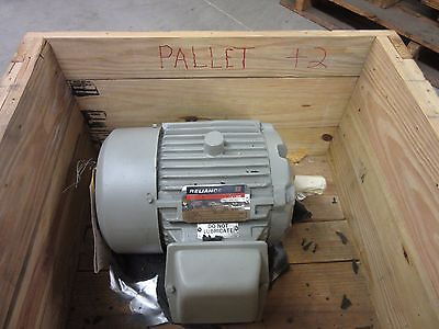 Reliance A-c Duty Master Motor 184tn 3hp 3 Phase 1745 Rpm 440v 60hz Electric
