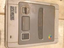 Working Super Nintendo Entertainment System (Super NES or SNES) Rockingham Rockingham Area Preview