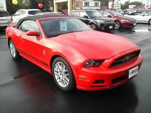 2014 Ford Mustang V6 PREMIUM CONVERTIBLE- NAVIGATION SYSTEM, REA