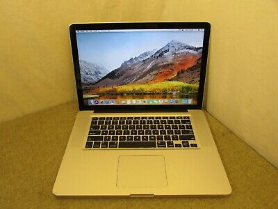 "Apple MacBook Pro 15"" Core i7 2.66GHz 8GB 1TB High Sierra - FAST SHIPPING"