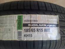 NEW 15 INCH 185/65R15 KUMHO SOLUS KH15 TYRE SUIT 15 INCH RIM Kallangur Pine Rivers Area Preview