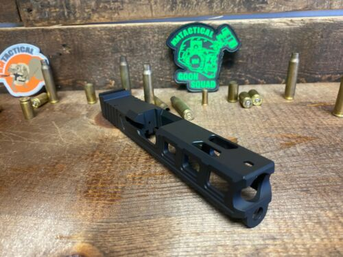 Raptor Series Slide for Glock 19 with RMR Serrations & Windows Ports Gen 3 Black