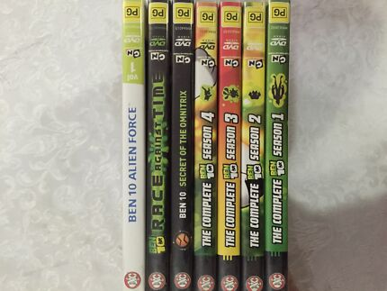 Ben 10 series and movies. Moulden Palmerston Area Preview
