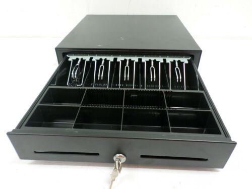 "Star Micronics Black Cash Drawer 37965600 16.5"" X 16"" 5 Bill / 8 Coin + 2 Keys"