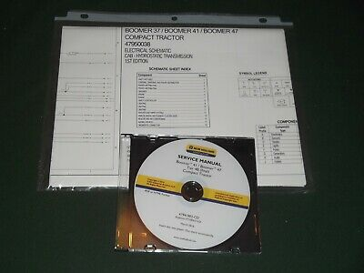New Holland Boomer 41 47 Tier 4b Tractor Service Repair Manual Wschematics