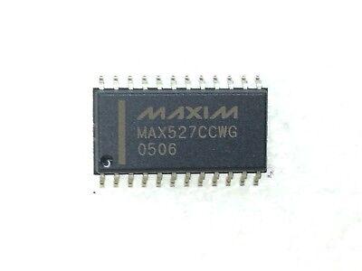 Max527ccwg Maxim Ic Dac Quad Calbrtd 12bit 24soic 1 Unit
