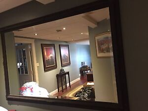 Very large framed mirror for your home!!
