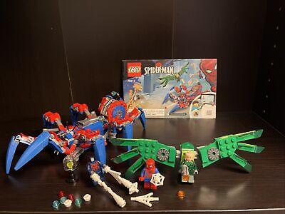 Lego 76114 Marvel Spidermans Spider Crawler Set Mint Complete Vulture No Sandman