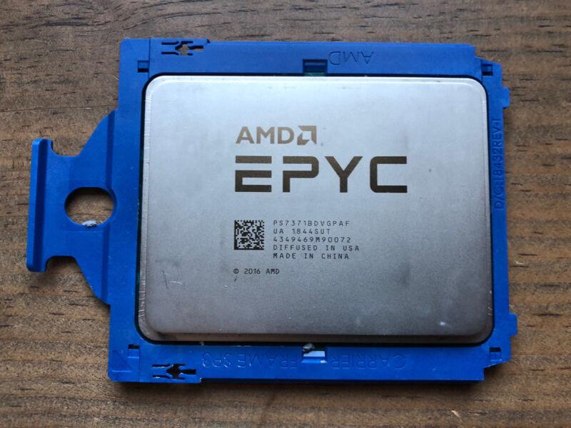AMD EPYC 7371 3.1GHz 16-Cores CPU PS7371BDVGPAF SP3