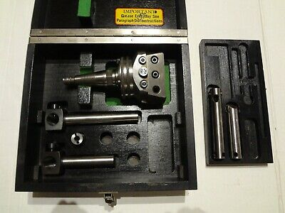 Wohlhaupter Upa3 Set Moore Jig Bore Shank Great Condition. Clean