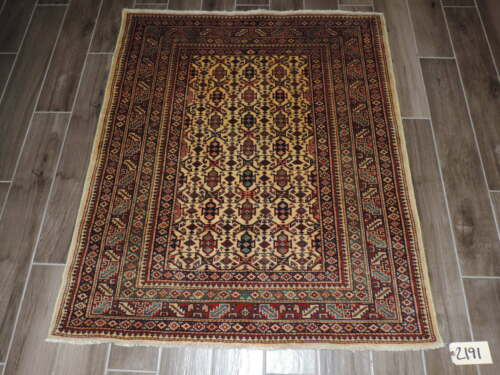 4x5ft. Handmade Caucasian Shirvan Wool Rug