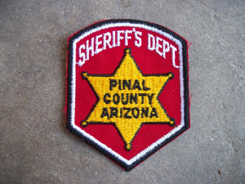 vintage 1960 Pinal County Sheriff