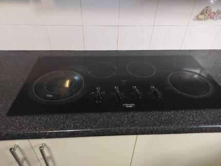 Oven rangehood and stove top