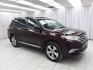 "2012 Toyota Highlander """"ONE OWNER"""" HIGHLANDER SE 3.5L AWD 7PAS"