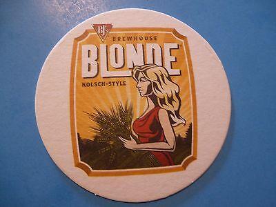 Beer Coaster     Bjs Brewhouse Blond Kolsch Ale     Nationwide Restaurant Chain