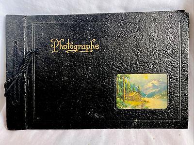 Vintage Scrap Book Photographs Album UNUSED 1930's
