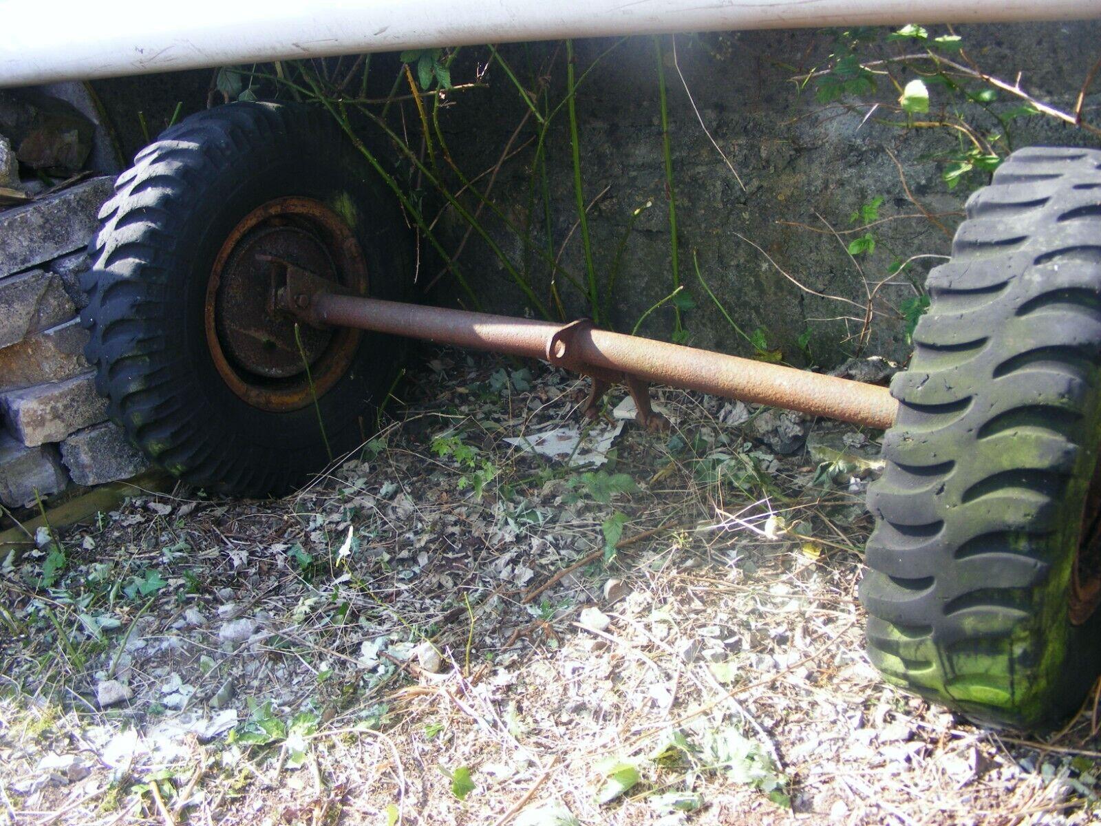 30s reverse tip cart axle.