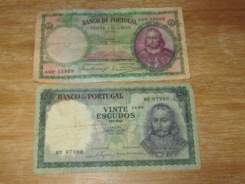 Lot of 2 World Paper Money #2589