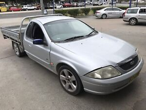AU XLS FORD FALCON UTE (MAY SWAP for 8x5 trailer)