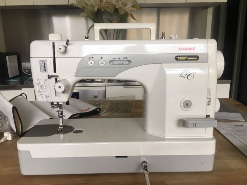JANOME SEMI INDUSTRIAL SEWING MACHINE MODEL 40QC PROFESSIONAL Enchanting Janome Sewing Machines Melbourne