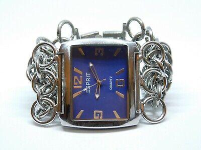 Esprit Silver Tone Quartz Analog Ladies Watch