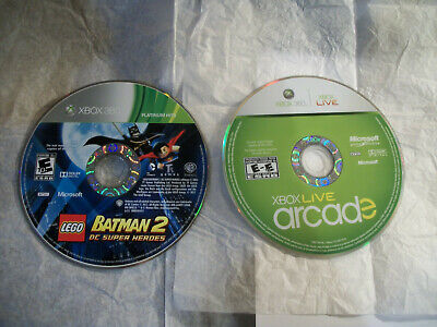 Used, ☆ 2 XBOX 360 Games Lot ☆ LEGO BATMAN & LIVE ARCADE ☆ FREE SHIPPING for sale  Shipping to India