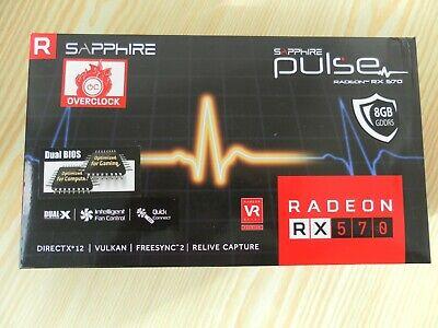 SAPPHIRE RADEON RX 570 pulse 8gb ***TOP Zustand***