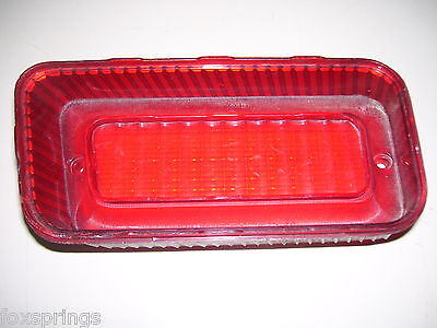 1969 CHEVY BELAIR/BISCAYNE LH OUTER TAIL LIGHT LENS - GUIDE 15 - 5961185 - CH174