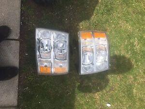 07 to 13 silverado headlights