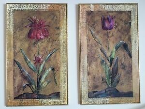 Tulip Prints from The Bombay Company set of 2