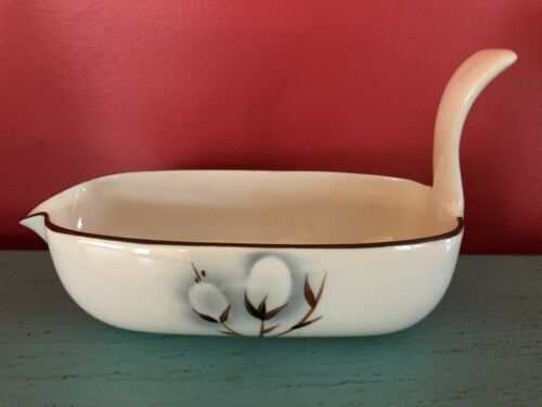 Vintage Winfield China Gravy Boat Pussy Willow Mid Century Excellent Condition