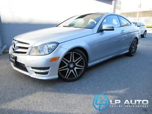 2013 Mercedes Benz C-Class C 350 4MATIC Coupe! LOADED! Easy Appr