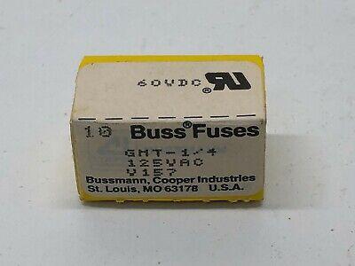 Box Of 8 New Buss Bussmann 14a Blade Fuses Gmt-14