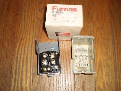 Nos Furnas 69mb4 Pressure Switch 30 In 50 Out 14 Nptf