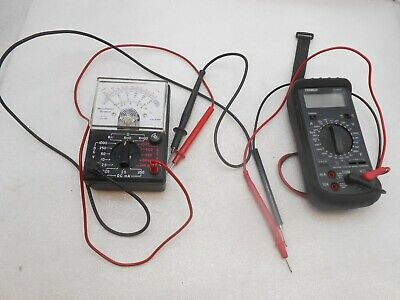 Electronic Multi Meters 2 Pieces By Tenma Bell Howell