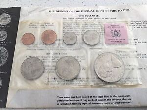 Decimal coins New Zealand 1967 Tapping Wanneroo Area Preview