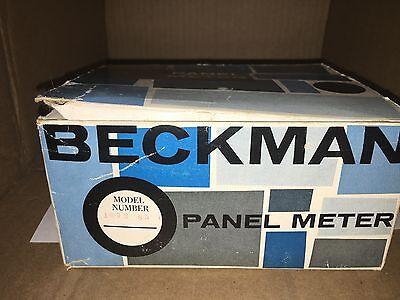 Vintage Beckman Panel Meter 1073-85-0