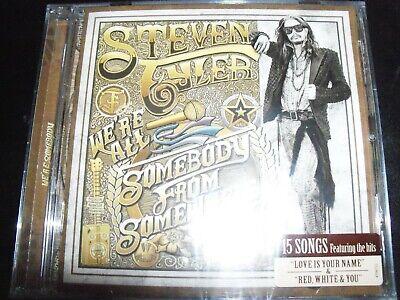 All Aerosmith Albums - Steven Tyler (Aerosmith) We're All Somebody From Somewhere Aust CD – New