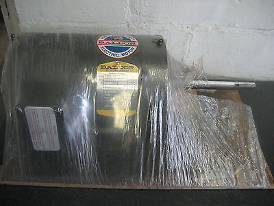 Baldor 1 Hp Motor Cat No. Jpm3116t 1725 Rpm Open 145jp Frame 208-230460v