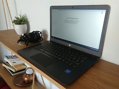 "HP Chromebook 14 14"" (32GB, Intel Celeron N3350, 4GB) Laptop Chrome OS"
