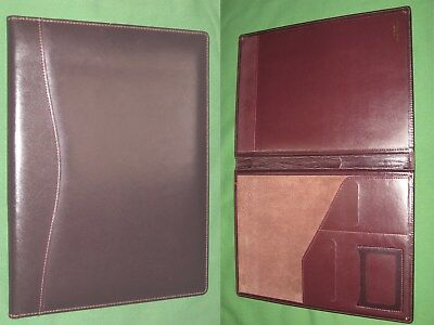 8.5x11 Note Pad Leather Day Runner Planner Binder Franklin Covey Monarch
