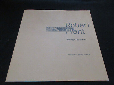 Michael Randolph Led Zeppelin 's Robert Plant Through The Mirror Photo Book 1993